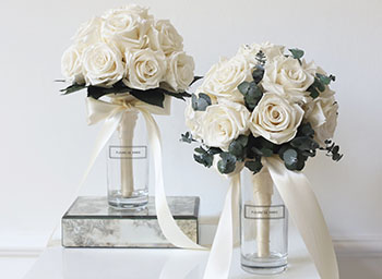 Fleurs de Paris Rosen roses Rosenbox Wedding Bouquet
